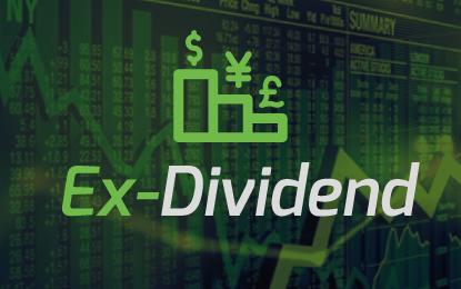 Ex-dividend 25.11.2016