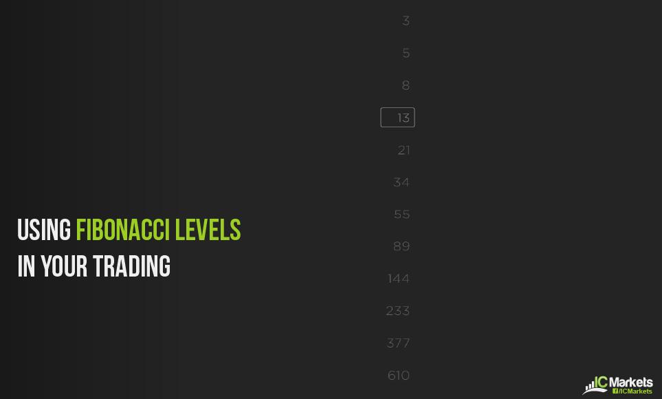 Using Fibonacci levels in Your Trading