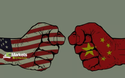 Thursday 9th August: China retaliates – slaps 25% tariffs on $16bln of US imports, forcing the USD into bearish territory.