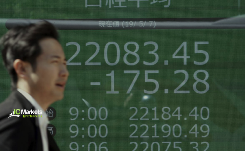 Monday 13th May: Asian markets continue to fall on trade woes