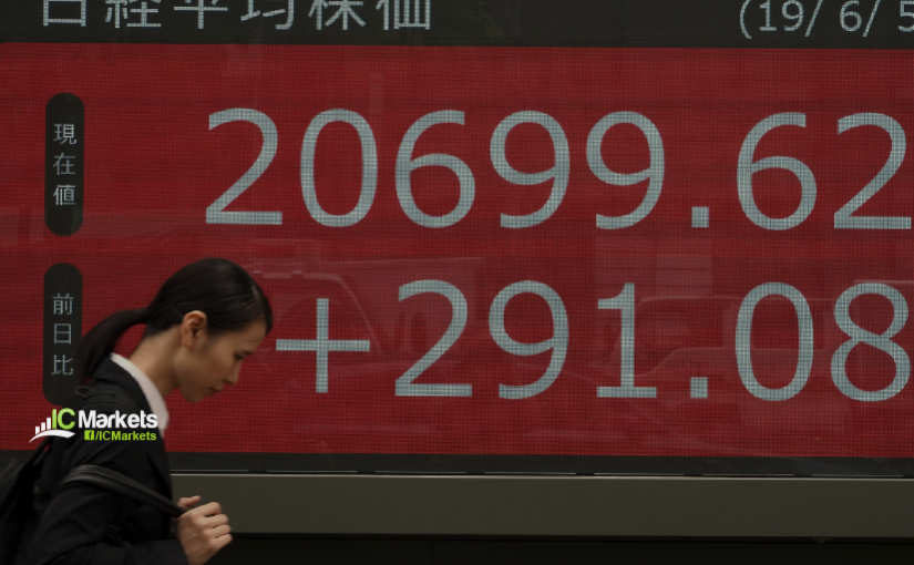 Monday 10th June: Asian markets gain on better than expected Chinese trade numbers