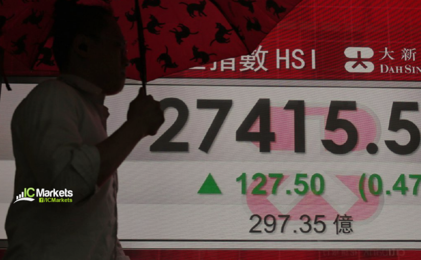 Tuesday 22nd October: Asian stocks gain on news that US and China might sign an agreement in November.
