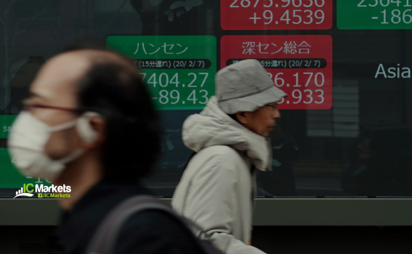Friday 21st February: Asian markets lower on concerns of virus effect on economy