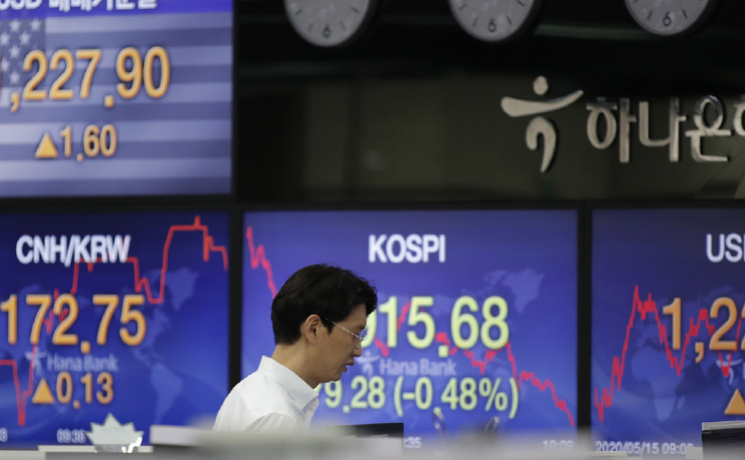 Thursday 4th June:  Asian markets mixed as investors weigh recovery vs geopolitical tensions