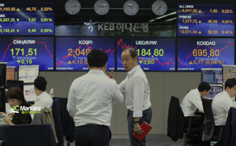 Tuesday 20th April 2021:  Asian markets lower on COVID worries.
